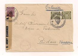 1 Brief - Zensuriert - Echt Gelaufen - Ohne Inhalt - .1946 - Allemagne