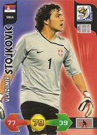 CARTE PANINI ADRENALYN COUPE DU MONDE FIFA  AFRIQUE DU SUD 2010 SERBIE VLADIMIR STOJKOVIC - Trading Cards