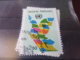 NATIONS UNIES VIENNE N° 8 - Oblitérés