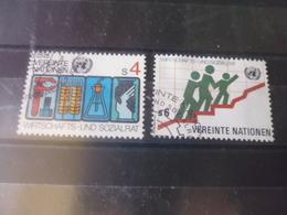 NATIONS UNIES VIENNE N° 16.17 - Oblitérés