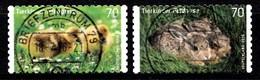 Bund 2016  Mi.nr.:3222-3223 Tierbabys  Gestempelt / Oblitérés / Used - [7] Federal Republic