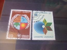 NATIONS UNIES VIENNE N° 26.27 - Oblitérés