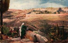 Raphael TUCK - Jerusalem - From The Mount Of Olives - Tuck, Raphael