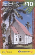 TARJETA DE LAS FIJI DE WAKAYA CHURCH - WAKAYA ISLANDS - Fiji