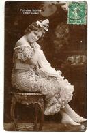 """ACTRICE PETRÁSS SÁRIKA ( """"MÁDI ZSIDÓ"""" )  """"La Folle Juive"""" Edit. Rozgonyi Dezsö Budapest 1906 - Artistes"""