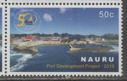 NAURU, 2018, MNH, PORT PROJECT, SHIPS, 1v - Andere(Zee)