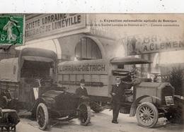 BOURGES EXPOSITION AUTOMOBILE AGRICOLE STAND DE LA SOCIETE LORRAINE DE DIETRICH ET CIE (LUNEVILLE) CAMIONS AUTOMOBILES - Bourges