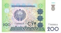 Uzbekistan - Pick 80 - 200 Sum 1997 - Unc - Uzbekistán
