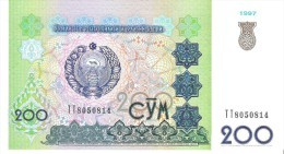 Uzbekistan - Pick 80 - 200 Sum 1997 - Unc - Uzbekistan