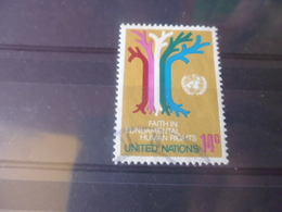 NATIONS UNIES NEW YORK N° 329 - Oblitérés