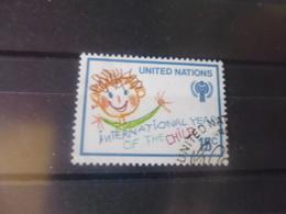 NATIONS UNIES NEW YORK N° 334 - Oblitérés