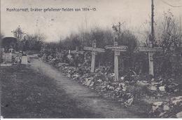 Montcornet , Gräber Gefallener Helden Von 1914 - 1918- Soldatenbrief MG. Komp 182  - AK-09646 - Oorlogsbegraafplaatsen
