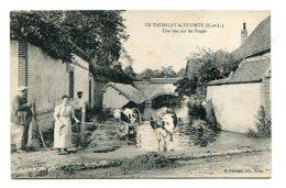FRANCE (28) - TREMBLAY-LE-VICOMTE (Eure-et-Loir) - Une Vue Sur Les Fossés - Autres Communes