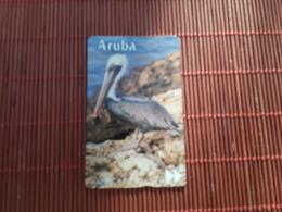 Phonecard Aruba Pelican Bird - Aruba