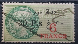 BB2 #21 - Syria 1929 Fiscal Revenue Stamp 30p On 6f (Black Ovpt) - Syrien