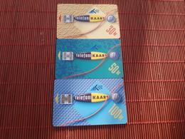 3 Phonecards Estland With Rare 100 Units Card Used Rare - Estonia