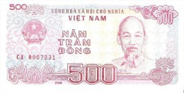 Vietnam - Pick 101 - 500 Dong 1988 - Unc - Viêt-Nam