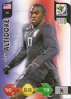 CARTE PANINI ADRENALYN COUPE DU MONDE FIFA  AFRIQUE DU SUD 2010 ETATS UNIS JOZY ALTIDORE - Trading Cards