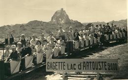 Sagette , Lac D'Artouste , Pyrénées . Photo Argentique , Années 1950 / 60 .  BEAU FORMAT . - Lieux