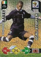 CARTE PANINI ADRENALYN COUPE DU MONDE FIFA AFRIQUE DU SUD 2010 COTE D'IVOIRE BOUBACAR BARRY - Trading Cards
