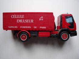 LE CAMION DE POMPIERS = CELLULE EMULSEUR - Firemen