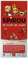 Flyer Exposition Spirou - Abbaye De Caunes-Minervois - 2018 - Programmes