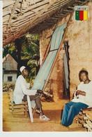 214-Mestieri-Artigianato Tessile-Cameroun-Africa - Artigianato