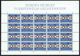 LICHTENSTEIN - EUROPA 1965 - Y/T N° 398 En Feuille ** De 20 EA. - Europa-CEPT