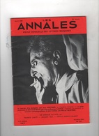 LES ANNALES 04 1969 - JEAN COCTEAU CINEMA - BIOLOGIE JEAN ROSTAND - GERARD DE NERVAL - Desde 1950