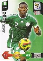 CARTE PANINI ADRENALYN COUPE DU MONDE FIFA AFRIQUE DU SUD 2010 NIGERIA JOSEPH YOBO - Trading Cards