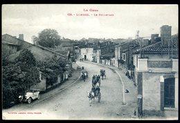 Cpa Du 32  Lombez Le Boulevard    Sept18-04 - Other Municipalities