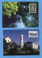LIECHTENSTEIN - Annata Completa 2001 Maximum Karte - Liechtenstein