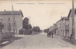 Chignat,route De Clermont Ferrand,café Du Commerce,vins En Gros - Autres Communes