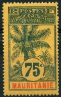 Mauritanie (1906) N 13 * (charniere) - Mauritanie (1906-1944)