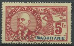 Mauritanie (1906) N 16 (o) - Oblitérés
