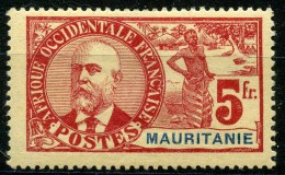 Mauritanie (1906) N 16 * (charniere) - Mauritanie (1906-1944)