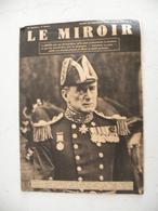 Le Miroir Amiral De La Flotte,n°4 - 26.9.1939 Hitler à Mie Presque Toute L'Europe En Armes,plan De Pays Déjà Occupé - Guerra 1939-45
