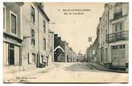 Vlc 72 - Sillé Le Guillaume : Rue Du Coq-Hardi - Sille Le Guillaume