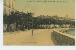 SAINTE MAXIME - Place Des Platanes - Sainte-Maxime