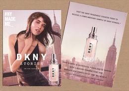 CC Carte Parfumée 'DKNY' STORIES Perfume Card - Modernes (à Partir De 1961)