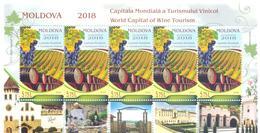2018. Moldova, Moldova-World Capital Of Wine Tourism, Sheetlets, Mint/** - Moldova