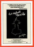 Carte Postale - Illustration Jean Cocteau (film Affiche Cinéma) Les Enfants Terribles - Cocteau