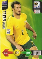 CARTE PANINI ADRENALYN COUPE DU MONDE FIFA AFRIQUE DU SUD 2010 AUSTRALIE LUCAS NEILL - Trading Cards