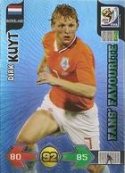 CARTE PANINI ADRENALYN COUPE DU MONDE FIFA AFRIQUE DU SUD 2010 PAYS BAS DIRK KUYT - Trading Cards