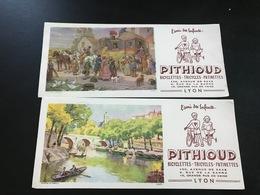 2 BUVARDS PITHIOUD - Blotters