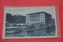 Trieste Piazza Ponterosso E Il Mercato Ed. Parovel NV - Italy