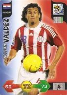 CARTE PANINI ADRENALYN COUPE DU MONDE FIFA AFRIQUE DU SUD 2010 PARAGUAY NELSON VALDEZ - Trading Cards
