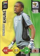 CARTE PANINI ADRENALYN COUPE DU MONDE FIFA AFRIQUE DU SUD 2010 AFRIQUE DU SUD ITUMELENG KHUNE - Trading Cards