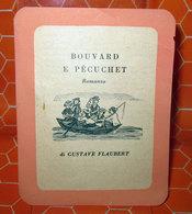 BOUVARD E PECUCHET GUSTAVE FLAUBERT SEGNALIBRO PUBBLICITARIO LONGANESI - Bookmarks