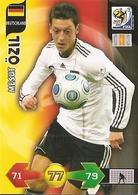CARTE PANINI ADRENALYN COUPE DU MONDE FIFA AFRIQUE DU SUD 2010 ALLEMAGNE MESUT OZIL - Trading Cards